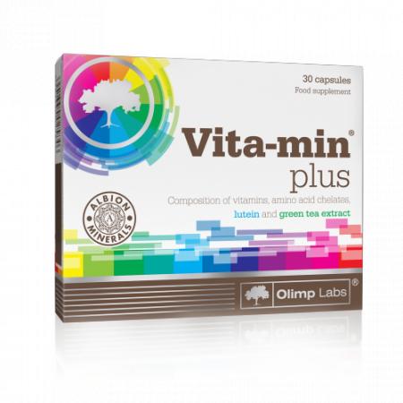 Vita-min plus Olimp Labs 30 caps.