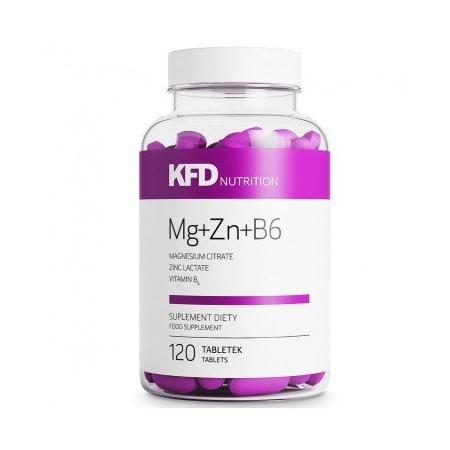 Mg+Zn+B6 KFD Nutrition 120 tabs.