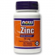 Zinc Now Foods 50 mg 100 таб.