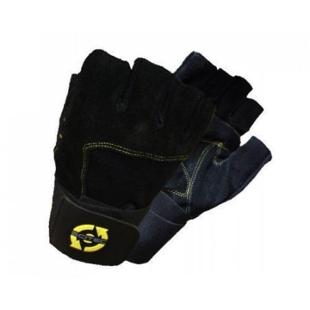 Перчатки Yellow Leather Style Scitec Nutrition