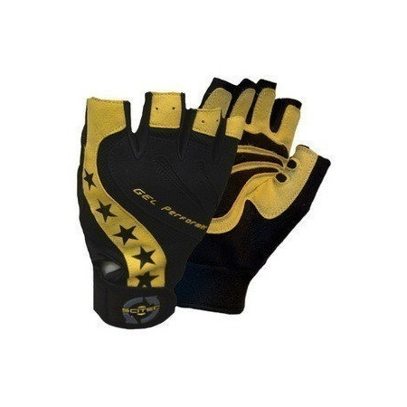 Yellow Style Scitec Nutrition кожаные перчатки