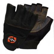 Перчатки кожаные Scitec Nutrition - Orange Style