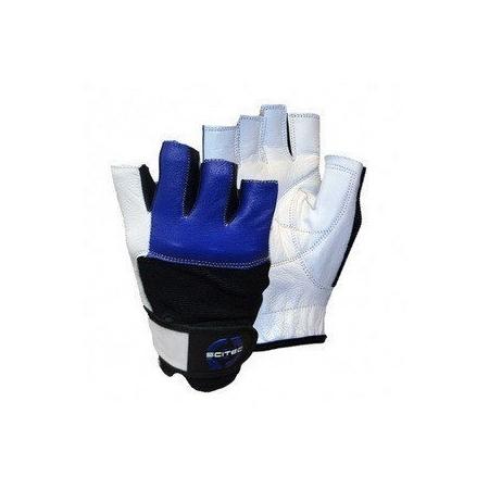 Blue Style Scitec Nutrition кожаные перчатки