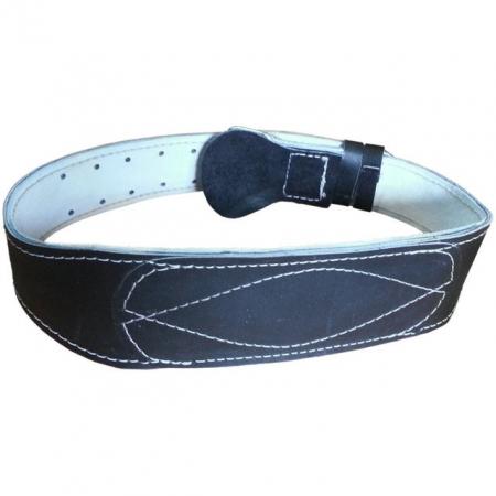 Тяжёлоатлетический кожаный пояс (10 см)