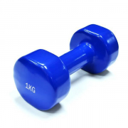 Гантели Spart - Vinyl Dumbbell DB2113-1 [blue/синий] (2 х 1 кг)