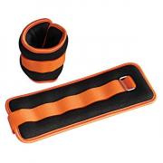 Утяжелители для ног SPART- AW1401-1.0KG (1кг) [black-orange/черно-оранжевый]