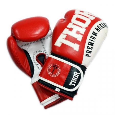 Перчатки боксерские Thor - Shark 8019/02 (PU) красные