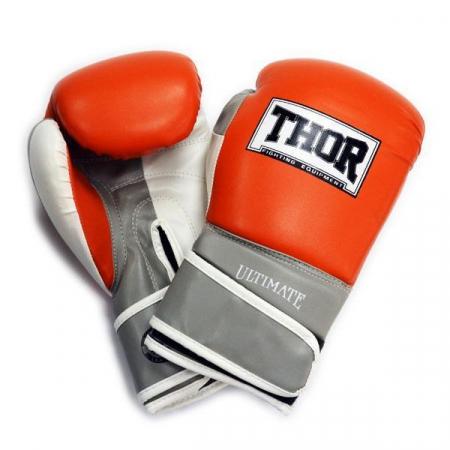 Перчатки боксерские Thor - Ultimate 551/04 OR/GR/WH (10 oz)