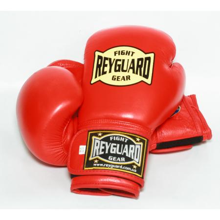 Боксерские перчатки Reyguard с печатью ФБУ 12 унций