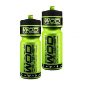 Бутылка для воды Scitec Nutrition - Wod Crusher (750 мл) [Зеленая, черная крышка]