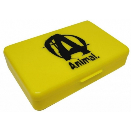 Таблетница Universal Nutrition - Animal Pill Box желтая