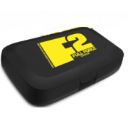 Таблетница ExTrifit - Pillbox черня