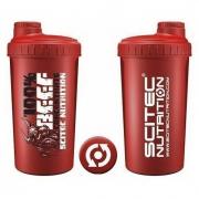 Шейкер Scitec Nutrition - 100% Beef (700 мл) [красный]