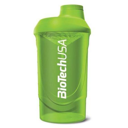 Шейкер BioTech - Magic Magenta 600 мл, зеленый/green