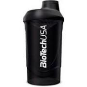 Шейкер BioTech - Magic Magenta 600 мл, черный/black