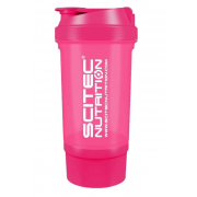 Шейкер Scitec Nutrition - Treveller +1 контейнер (500 мл) [pink/розовый] ***