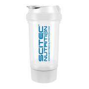 Шейкер Scitec Nutrition - Treveller +1 контейнер (500 мл) [white/белый] ***