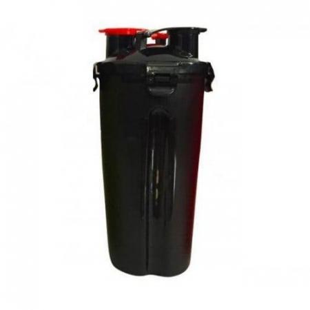 Шейкер Hydro Сup - Shaker dual (848 мл) черный