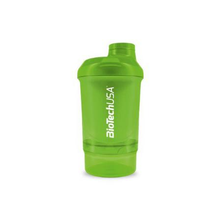 Шейкер BioTech - Wave+Nano Grass Green (300 мл +150 мл) зеленый