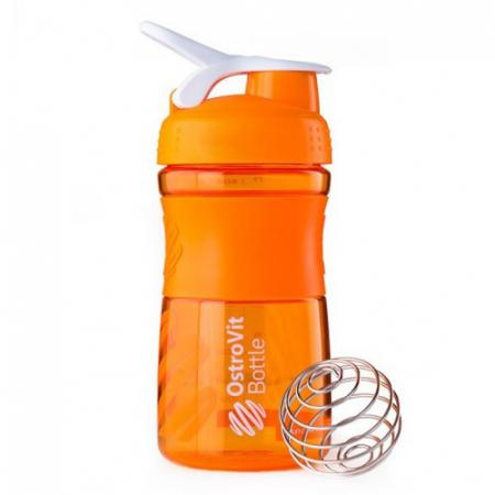 Шейкер OstroVit Bottle Sportmixer 500 ml orange/оранжевый