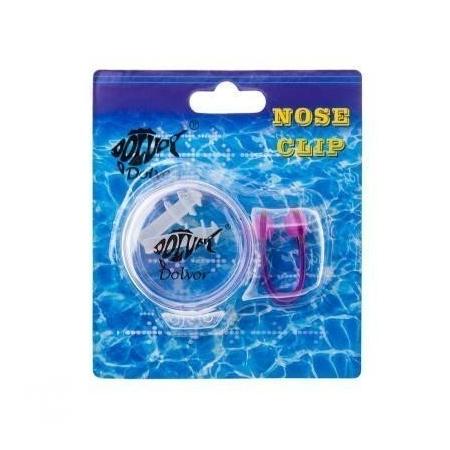 Силиконовые беруши + зажим для носа Dolvor - Nose Clip AC-3 + EP-3