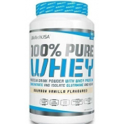 BioTech - 100% Pure Whey (908 гр) [bourbon-vanilla/бурбон-ваниль] (п 28 г)