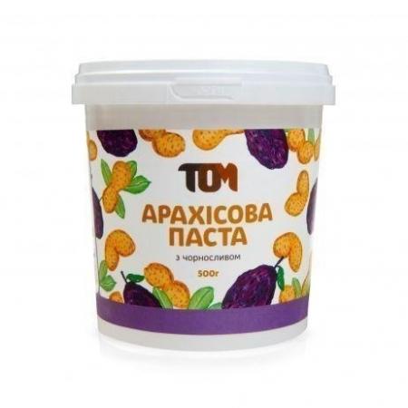 Арахисовая паста ТОМ - С черносливом (500 гр)