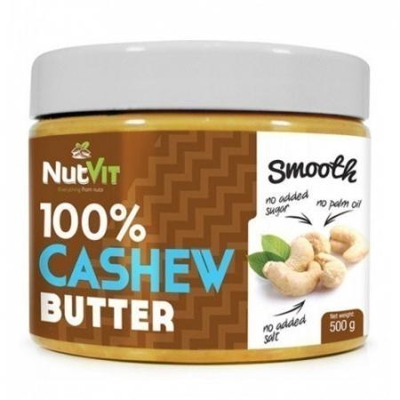 Арахисовая паста NutVit - 100% Cashew butter (500 гр)