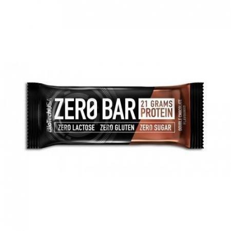 Батончик BioTech - Zero Bar (50 г) двойной шоколад