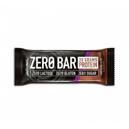 Батончик BioTech - Zero Bar (50 г) шоколад-слива