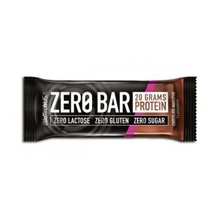 Батончик BioTech - Zero Bar (50 г) шоколад-марципан