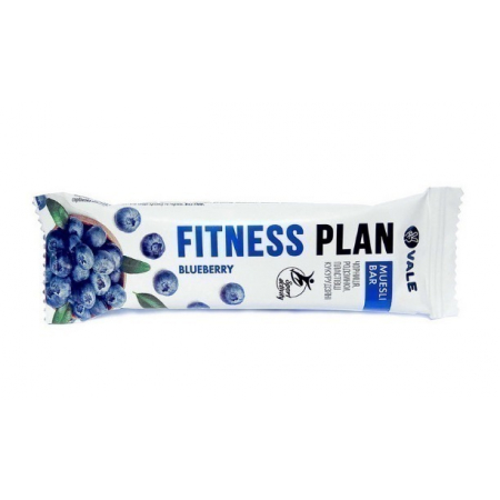 Злаковый батончик Fitness Plan - Muesli Bar (25 грамм)