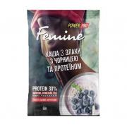 Каша Power Pro - Femine (50 гр) злаки с черникой