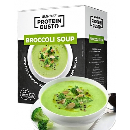 Протеиновый суп BioTech - Protein Gusto (30 грамм) брокколи