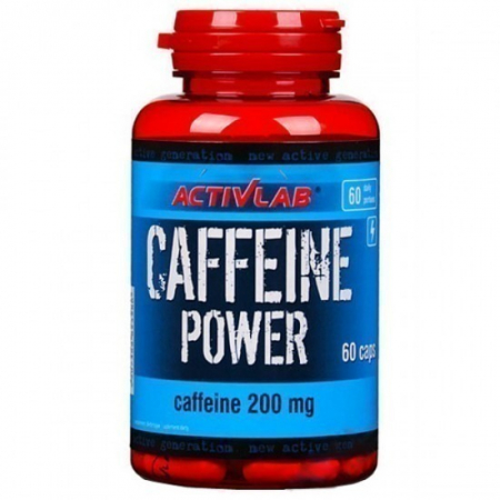 Кофеин ActivLab - Caffeine Power 200 мг (60 капсул)