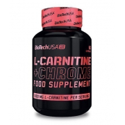 Карнитин BioTech - L-Carnitine + Chrome FOR HERE (60 капс) (п 2 капс)
