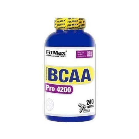 BCAA Pro 4200 FitMax 240 tabs.