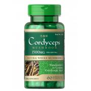 Кордицепс Puritan`s Pride - Cordyceps 750 мг (60 капсул)