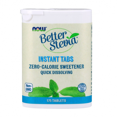 Заменитель сахара Now Foods - Better Stevia (175 таблеток)