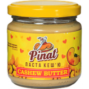 Паста кешью Pinat - Cashew Butter (200 грамм)