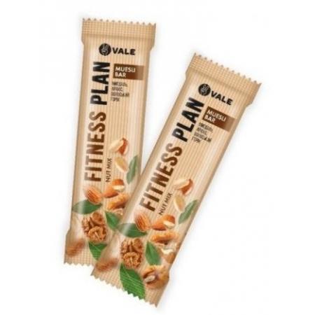 Злаковый батончик Fitness Plan - Nut Mix (30 грамм)