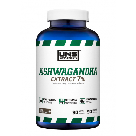 Адаптоген UNS - Ashwagandha 7% (90 таблеток)