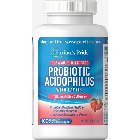 Пробиотик Puritan's Pride - Probiotic Acidophilus (100 капсул)