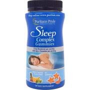 Комплекс для сна Puritan's Pride - Sleep Complex with Melatonin and L-Theanine (60 мармеладок)