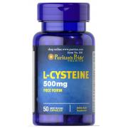 Цистеин Puritan's Pride - L-Cysteine 500 мг (50 капсул)