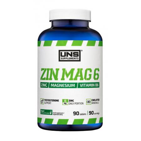 Витаминный комплекс UNS - Zin Mag B6 (90 капсул)
