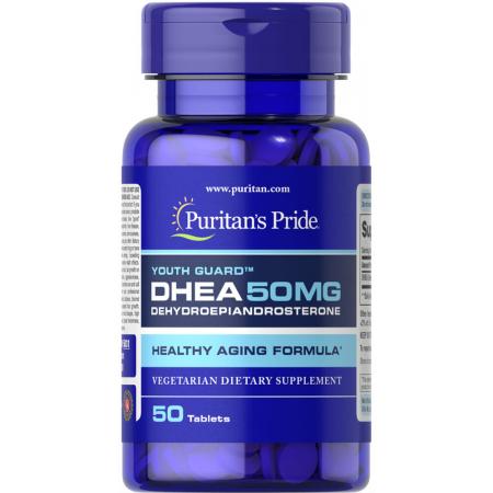 Puritan's Pride - DHEA 50 мг (50 таблеток)
