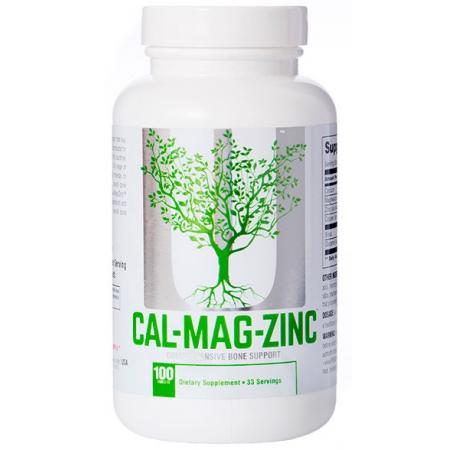 Минеральный комплекс Universal Nutrition - Cal-Mag-Zinc (100 таблеток)