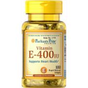 Витамин Puritan's Pride - Vitamin E 180 мг (400 IU)