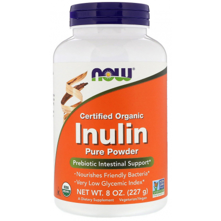 Пребиотик Now Foods - Inulin Pure Powder (227 грамм)